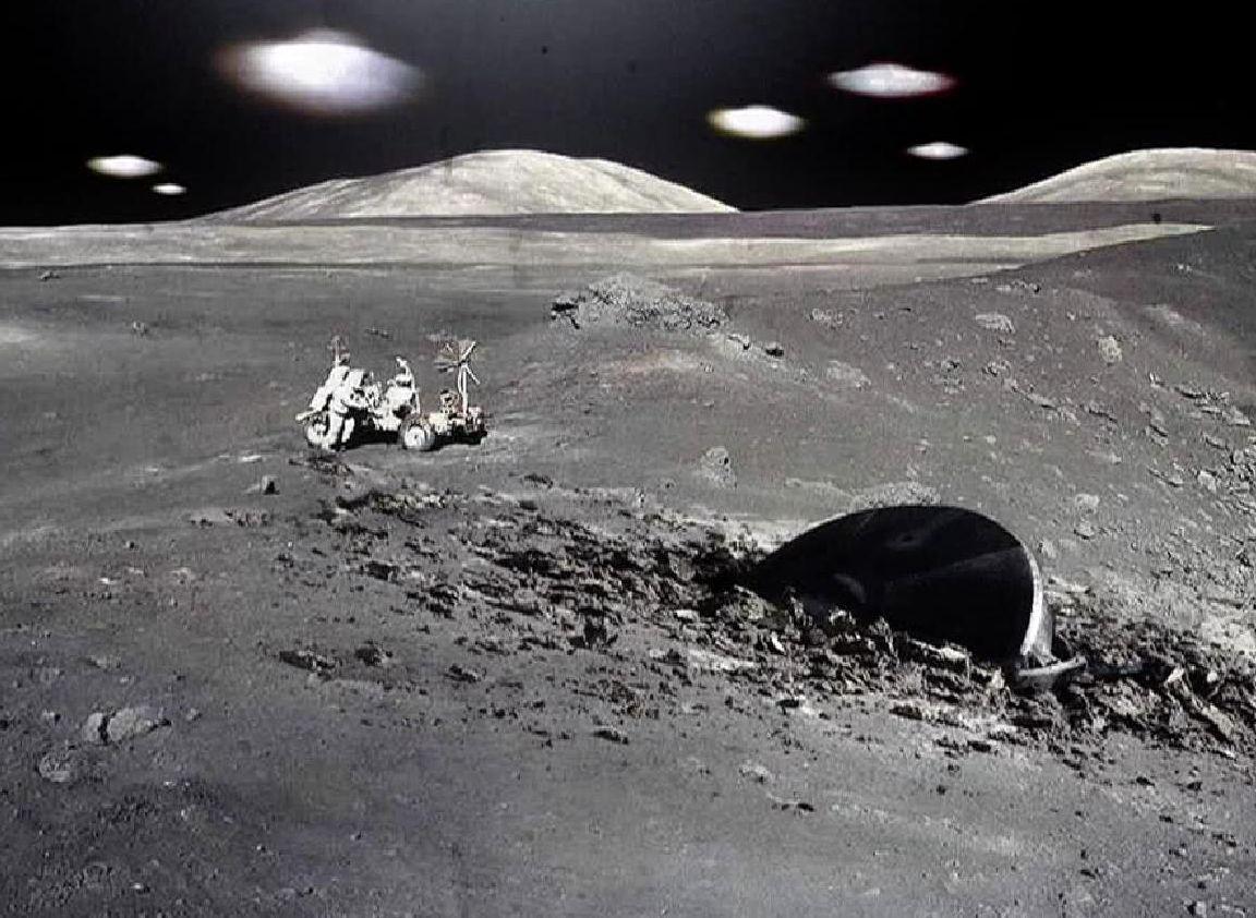 На Луне все-таки видели пришельцев?